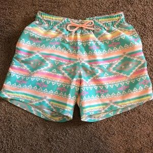 "481a8995ff3 ... Chubbies ""The En Fuegos"" 5.5 inch swim trunks ..."